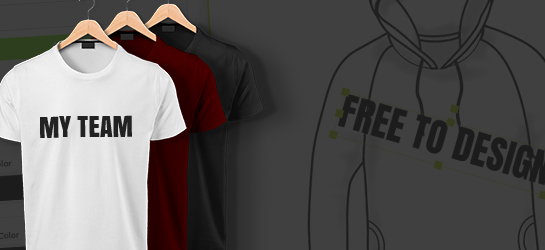可自訂內容的運動衛衣 - T-Shirt/Hoodies