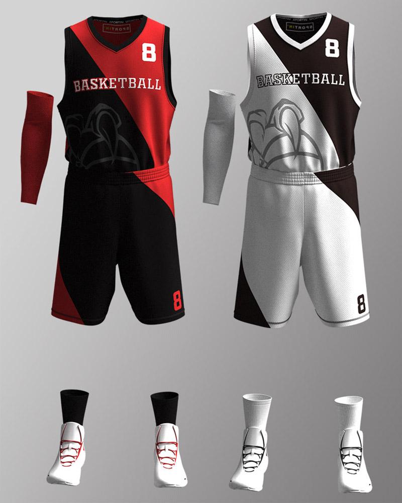 Bespoke Customized Basketball Jersey