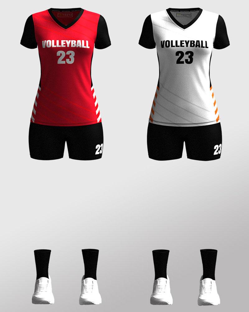 Bespoke Customized Volleyball Jersey